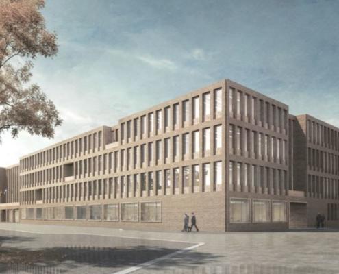 Entwurf Rathausneubau