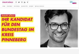 Homepage Philipp Rösch